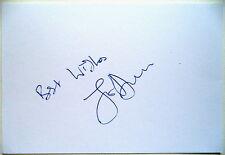 JOE DURIE WIMBLEDON MIXED DOUBLES CHAMP 1979 AUTOGRAPH
