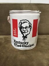 Vintage Kentucky Fried Chicken KFC Insulated Bucket Carrier Cooler Advertising