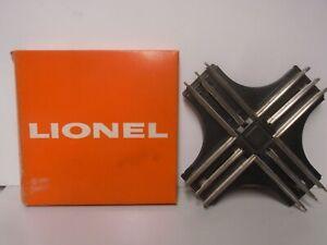 1960'S VINTAGE LIONEL O GAUGE #020 90 DEGREE CROSSING IN ORIGINAL BOX
