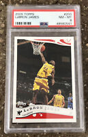 2005 Topps LeBron James #200 PSA 8 NM-MT