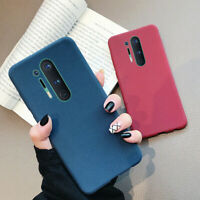 For OnePlus Nord 7T 8 Pro 6T Silicone Soft Sandstone Slim Matte Back Case Cover