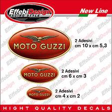 KIT Adesivi stickers MOTO GUZZI 6 pz STELVIO GRISO CALIFORNIA NEVADA V7 SPECIAL