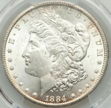🌞THE SUN IS A SHINING!🌞 1884 CC $1 Morgan Silver Dollar PCGS MS63 BRIGHT LIKE