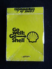 SHELL MULGRAVE SELF SERVE CNR POLICE & JACKSON RDS NOBLE PARK NORTH MATCHBOOK