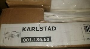 IKEA Karlstad 2 Seat Loveseat Sofa Blekinge White(Mates Avail w/Discnt)NEW Cover