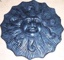 "CONCRETE Cement Plaster BORDER ART STAMP Flaming SUN 10"" Imprint MAT New"