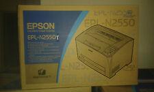 Monochrome Imprimante Laser Epson epl-n2550t S/W Neuf Neuf dans sa boîte format a3 Net 350 € RG MWS