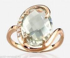 Markenlose Echte Edelstein-Ringe mit Amethyst für Damen