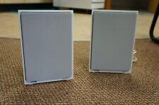 TDK Flat Panel Bookshelf Speakers (White)