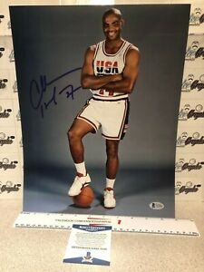 CHARLES BARKLEY SIGNED AUTOGRAPHED 11X14 PHOTOGRAPH-BECKETT BAS COA TEAM USA