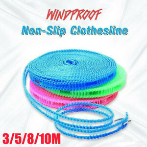 10M Non-slip Nylon Washing Clothesline Outdoor Travel Camping Clothes Line Rope