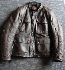 Dainese Brown Leather Jacket Maverick size 50 Italian