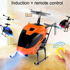 D-715 Flying Mini RC Infraed Induction Helicopter Aircraft Flashing Light Toys