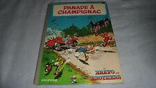 PANADE A CHAMPIGNAC - E.O 1969 - Franquin - Spirou et Fantasio - dos rond BE