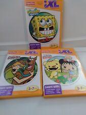 3 Fisher Price iXL Software, SCOOBY-DOO SpongeBob SquarePants Nihao, kai-lan