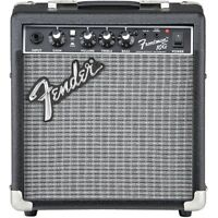 Fender Frontman 10G 10W Guitar Combo Amplifier Amp Black/Silver 120V 4-Ohm