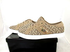 New G by GUESS OHLIAH2  low top canvas fabric sneakers shoes sz 8 M