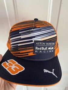max verstappen hat cap red bull formula 1 F1 puma orange army honda