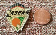 San Jose Lasers Inaugural Game Abl American Basketball League Lapel Pin