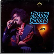Freddy Fender - Live - New 1977 Crazy Cajun, Country Music LP Record!