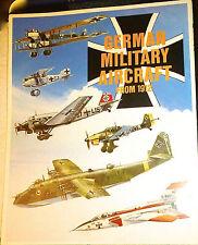 German Military Aircraft from 1912 Faltplan Poster   å √