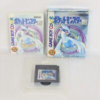 POKEMON SILVER Gin ccc Pocket Monsters Game Boy Nintendo gb