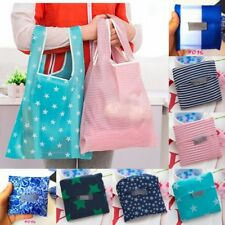 Eco Reusable Nice Foldable Nylon Eco Storage Travel Shopping Tote Grocery Bag