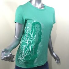 Miranda Lambert Women's Green Graphic Picture Band T Shirt Size Small
