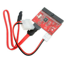 IDE to SATA 2 in 1 SATA to IDE Converter Adapter Power Cable Support ATA 100/133