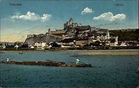 Trentschin Trencsén Slowakei Color Postkarte ~1910 Látképe Blick auf die Burg