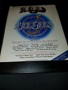 Bee Gees Greatest Rare Original Promo Poster Ad Framed!