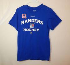 Rick Nash New York Rangers NHL Hockey Reebok T Shirt Size SMALL S