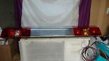 VINTAGE 66 INCH CODE 3 ROTATING POLICE/FIRE LIGHT BAR WITH SEALED BEAM BULBS
