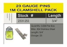 """Spotnails 23312SS 3/4"""" STAINLESS STEEL 23 Gauge Headlass Pins, 24,000/Case"""