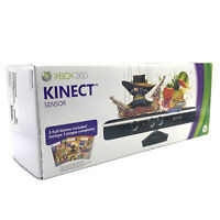 Microsoft 1414 Xbox 360 Kinect Sensor Bar and accessories New Unopened