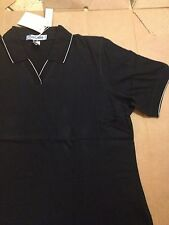 Ladies V-Neck Black Polo Shirt. See Pictures. by Extreme LADIES XXXL