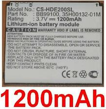 Batterie 1200mAh type 35H00132-01M AB533640AEC Pour HTC Nexus One