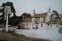 "PRINT 10"" X 7""  THE CRICKETERS PUB BAUGHURST HAMPSHIRE c1961"