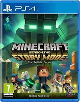 PS4 Minecraft Story Mode Season 2 PS4 PRISTINE 1st Class FAST and FREE Delivery