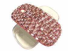 blingustyle Crystal/Diamante Wireless Optical Cordless PC Mouse Big Pink