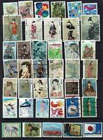 JAPAN.....MIXED COLLECTION 40 STAMPS