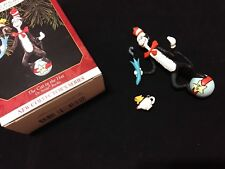 Hallmark 1999 Dr. Suess Cat In The Hat First 1St In Series Ornament 1