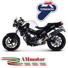 Tubo De Escape Termignoni Bmw F 800 R 2012 Aprobado Oval Inox Carbon Look Moto
