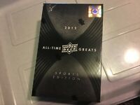 2012 UD Upper Deck All Time Greats Sports Edition Sealed Box