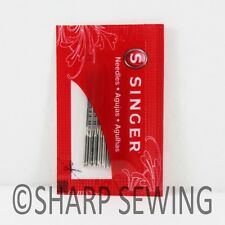 SINGER  2020 HOME SEWING MACHINE NEEDLES 10 EACH SIZE#11 SAME AS 15X1, HAX1,