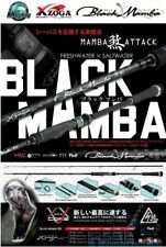XZOGA ''BLACK MAMBA'' Version II Spinning Rod Sea Fishing Freshwater