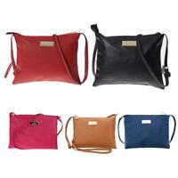 Women Ladies Leather Messenger Crossbody Shoulder Bag Satchel Handbag Tote Purse