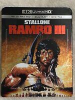RAMBO III (1988) - 4K Ultra HD UHD disc only (No Blu-ray & Digital Copy)