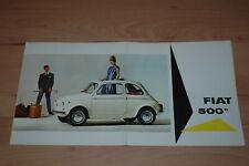 Fiat 500 - Brochure folder catalogus