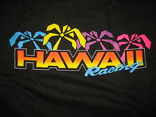 #7153 HAWAII RACING SS T SHIRT MEN'S LARGE NEW